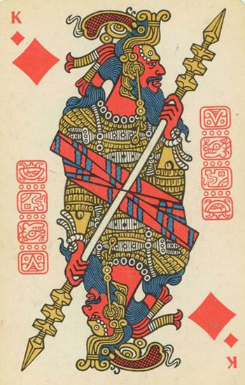 ancient playing card