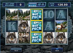 Untamed: Wolf Pack slot